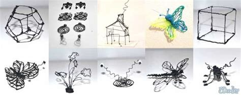 3d doodling pen lets you draw your own objects 3d pen lets you doodle the page and into the air