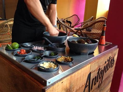 Table Side Guacamole by Tableside Guacamole Picture Of Antojitos Authentic
