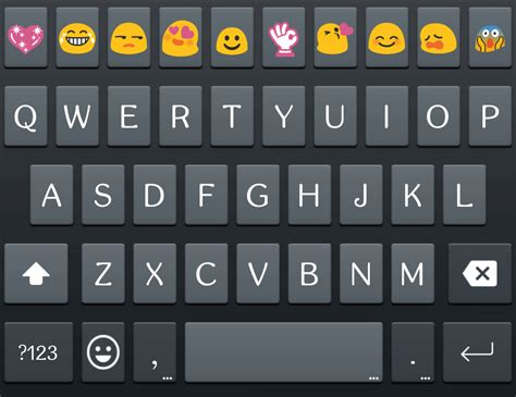 android keyboard with emoticons emoji keyboard skin for galaxy android apps on play