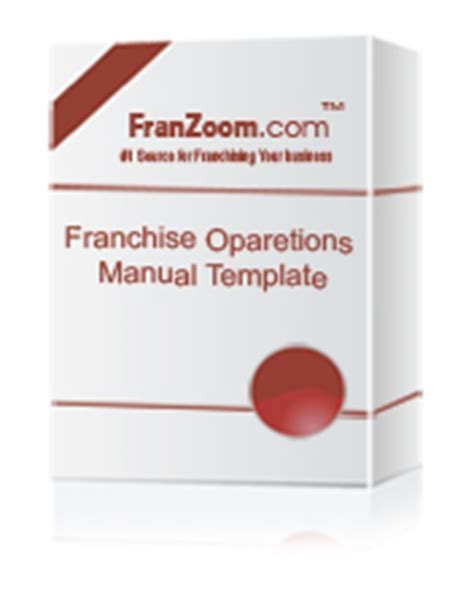 adv bundle fdd operations manual franchise agreement
