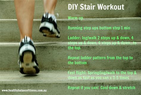 stair workout challenge