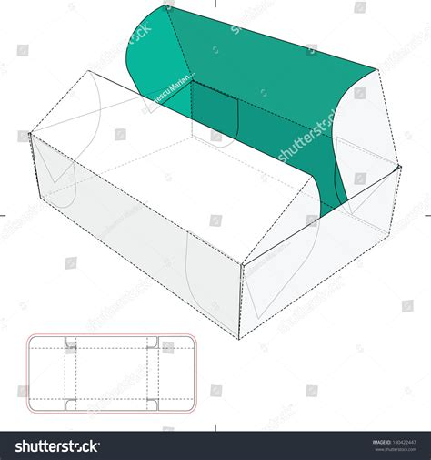 pattern beatbox pop rectangle box template with lid www imgkid com the