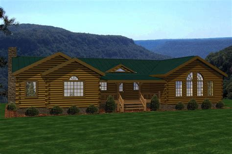 riverbend battle creek log homes