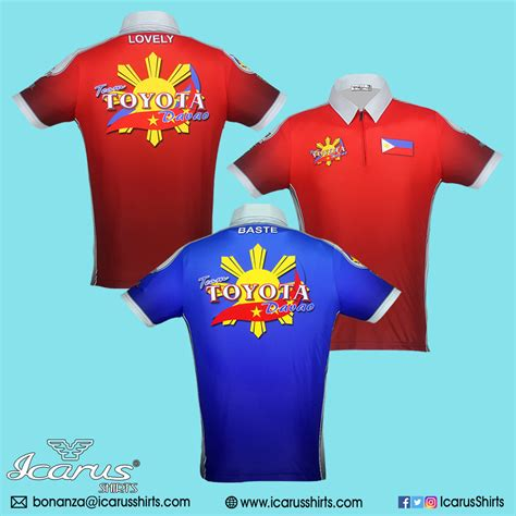 team toyota team toyota davao icarus shirts