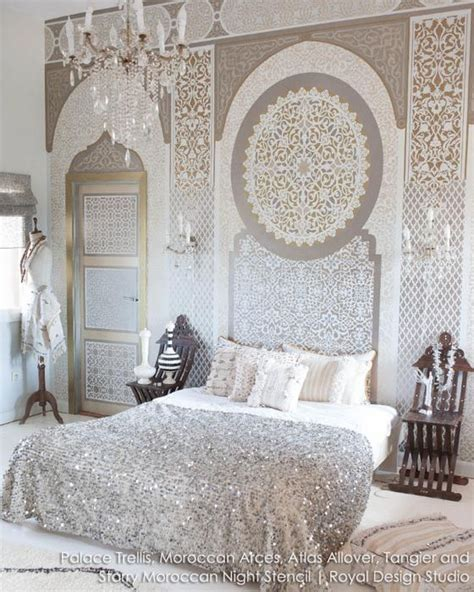 moroccan style small palace 2 17 best ideas about moroccan wall stencils on pinterest