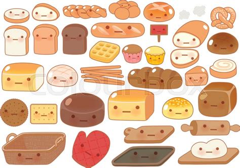 food doodle bread collection of lovely baby bakery food doodle icon