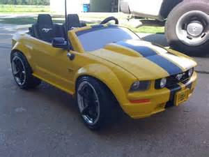 modified power wheels finally finished the mustang