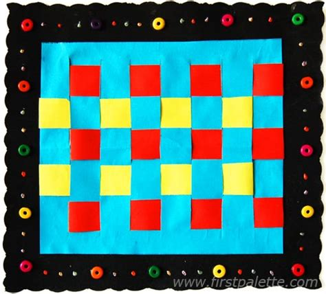 paper weaving craft kids crafts firstpalette com