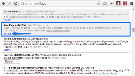 html format for web page how to save web pages in mhtml format in google chrome