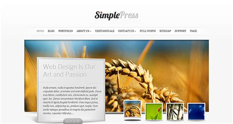 themes wordpress free simple simplepress simple wordpress theme