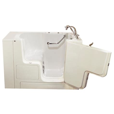 american standard walk in bathtub american standard gelcoat value series 4 3 ft walk in