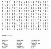 9 Best Images Of Wellness Word Search Puzzle Printable