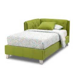 corner bed corner bed green value city furniture