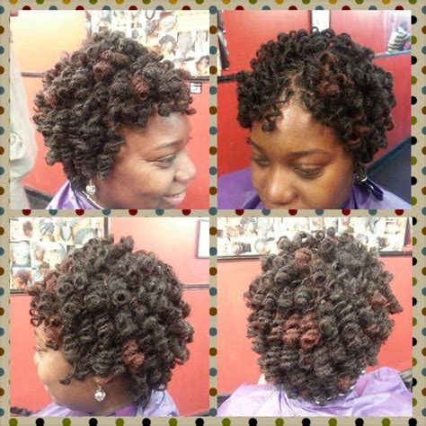 hairstyles by shaneka of orangeburg sc rod set on locs samatha orangeburg sc short locks gt gt styles