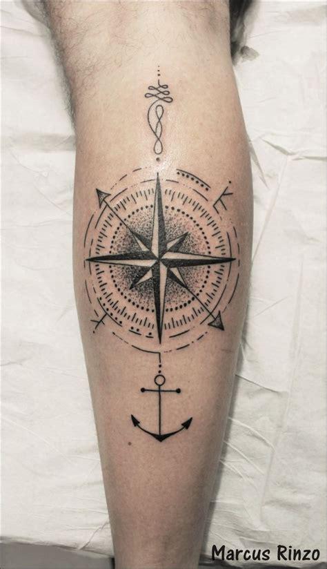tattoo compass leg best 25 anchor compass tattoo ideas on pinterest