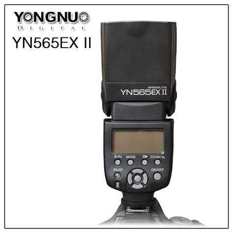 Yongnuo Speedlite Yn565ex yongnuo ttl flash unit speedlite yn565ex ii yn 565 ex ii for canon 817211026152 ebay