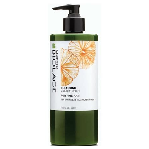 30 Day Hair Detox Product Recommendations by Matrix Biolage Cleansing Conditioner Hair 500 Ml 23