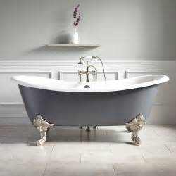 72 quot lena cast iron clawfoot tub monarch imperial