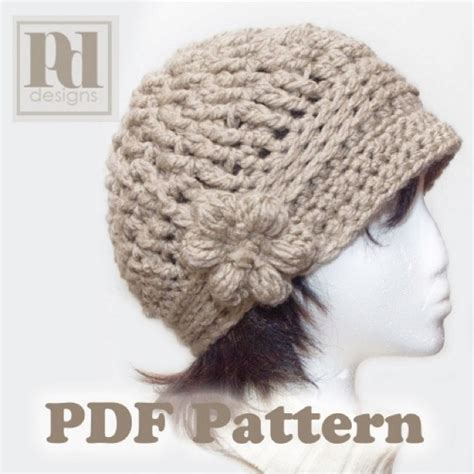 Crochet Pattern Cute Hat | cute hat pattern crochet pinterest