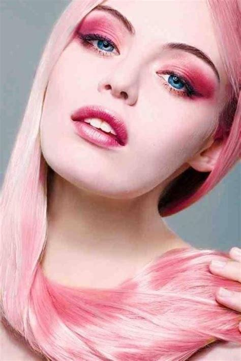 how to do pinks up do hair pink hair and make up pink quot a quiet color quot pinterest