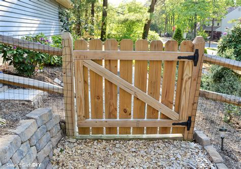 diy gate build your own wood gate plans free