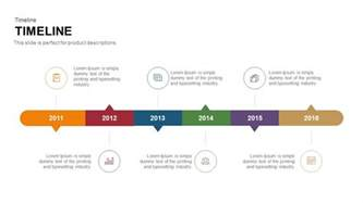 timeline template for powerpoint 2010 timeline powerpoint and keynote template slidebazaar