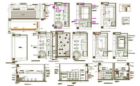ice cream shop floor plan ice cream shop all detail in cad file