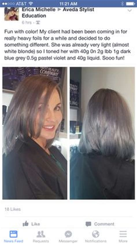 aveda color and gray hair aveda formula by another stylist pinteres