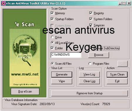 escan antivirus full version free download 2015 escan security plus 2015 keygen portable license serial