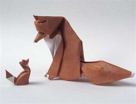 Folded Paper Animals - paper animal origami update dinh truong giang