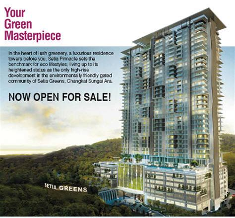 setia pinnacle setia pinnacle condo  sale  rent