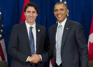president canada trudeau tells obama canada will be strong partner