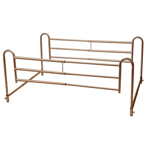 drive home bed style adjustable length bed rails 16500bv the home depot