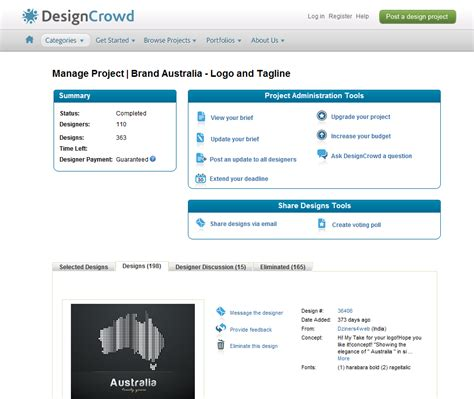 designcrowd voting how do i create and use the voting poll designcrowd