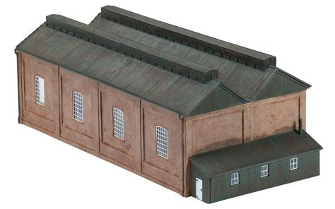 Oo Engine Shed by Hornby Skaledale R9822 1 76 Oo Scale Steam Locomotive Shed
