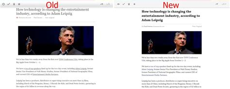 web article layout pocket for web gets more streamlined and feature rich