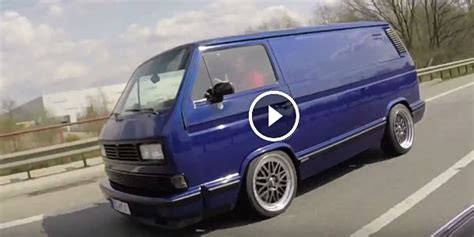 bmw volkswagen van who said the vw t3 van cannot beat a bmw m3 on the highway