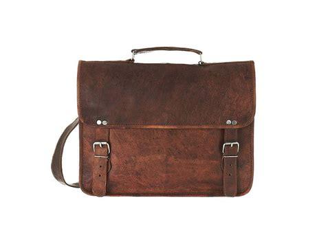 laptop bags leather vintage style leather laptop bag by vida vida notonthehighstreet