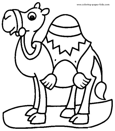 Free Coloring Pages Of Camel Mask Camel Colouring Page