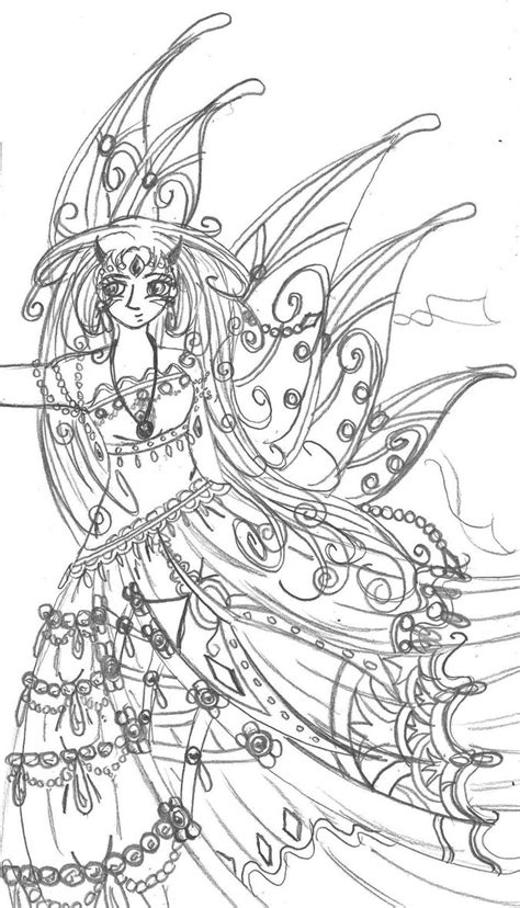 Anime Fairy Princess Coloring Pages Sketch Coloring Page Coloring Princess Anime