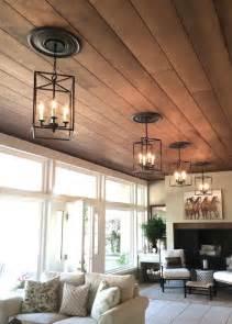 Wood Look Ceiling 25 Best Wood Plank Ceiling Ideas On Plank