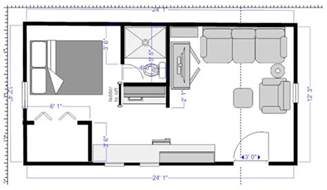 tiny home layouts floor plan craker cabin