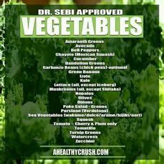 How Can I Order Dr Sebie Mucus Detox by The Dr Sebi Hybrid Foods List These Vegetables Do Not
