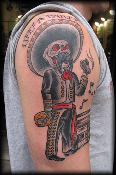 mariachi tattoo picture last sparrow tattoo