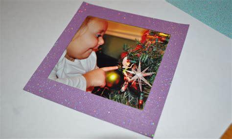 tutorial scrapbook frame scrapbook paper photo frame christmas ornament tutorial