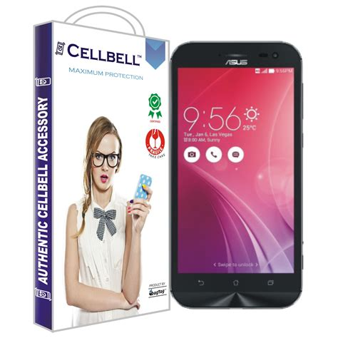 Tempered Glass Zenfone Zoom by Asus Zenfone Zoom Tempered Screen Glass Cellbell