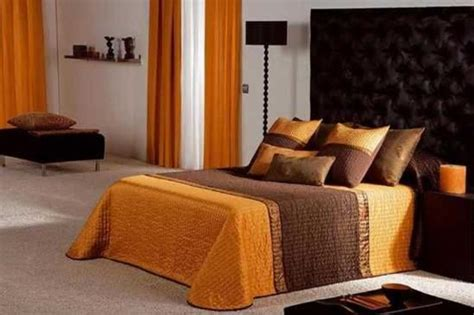 orange color scheme for living room bedroom orange color