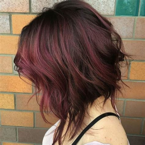hair style ideas with slight wave in short best 25 wavy asymmetrical bob ideas on pinterest