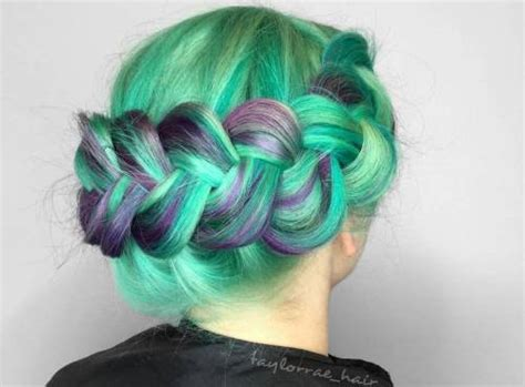 Green Hairstyles by 20 Mint Green Hairstyles That Are Totally Amazing