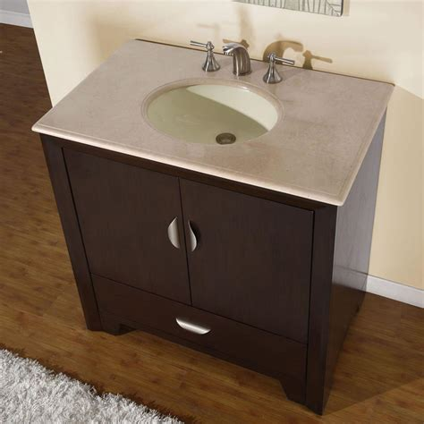 36 bathroom sink silkroad exclusive traditional 36 quot single sink bathroom